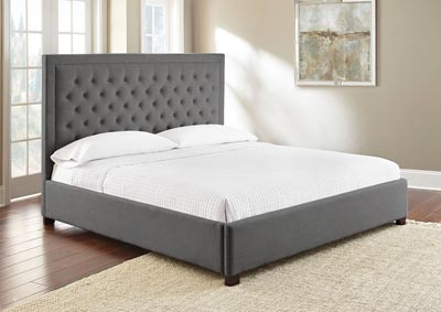 Image for Isadora Grey Upholstered King Bed