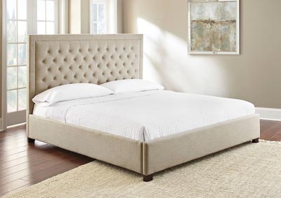 Image for Isadora Sand Upholstered King Bed