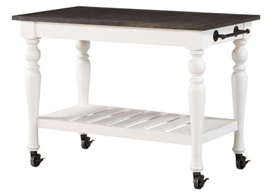 Image for Joanna White Kitchen Cart