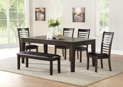 Image for Ally Brown Rectangular Dining Table