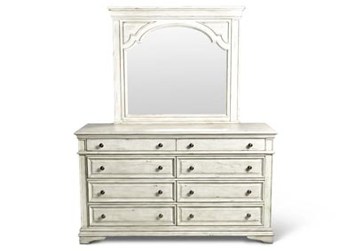 Image for Highland Park Avenue Cathedral White Dresser