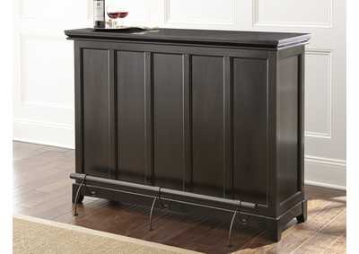 Image for Garcia Brown Silverstone Top Counter Bar Unit