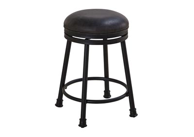 "Image for Claire Brown PU Swivel Counter Stool [2/ctn] 16""x16""x24"" [1/2"" Memory Foam]"