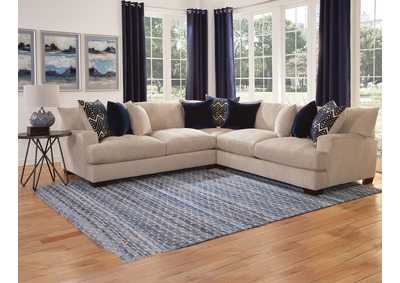 Image for Gramercy Beige Three Piece Sectional