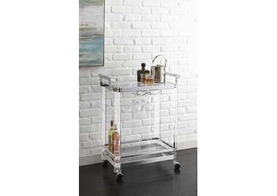 Image for Aerin Clear Server Cart