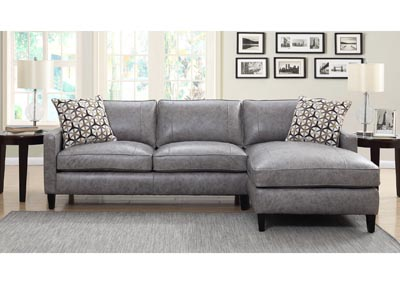 Image for Alder Grey Sectional Chaise & Loveseat