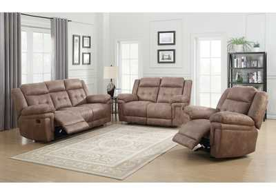 Image for Anastasia Cocoa Recliner Armchair & Loveseat