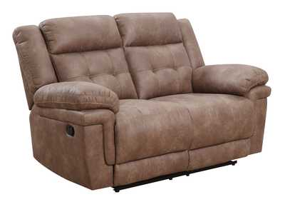 Image for Anastasia Cocoa Recliner Loveseat