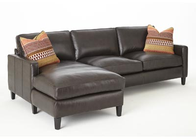 Image for Anguilla Brown Sectional Chaise & Loveseat