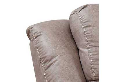 Image for Aria Saddle Brown Power-2 Recliner