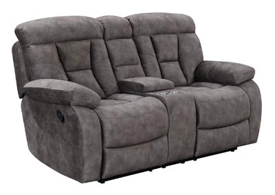 Image for Bogata Grey Console Loveseat