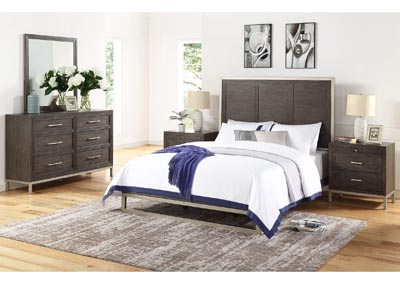 Image for Broomfield Brown King Bed