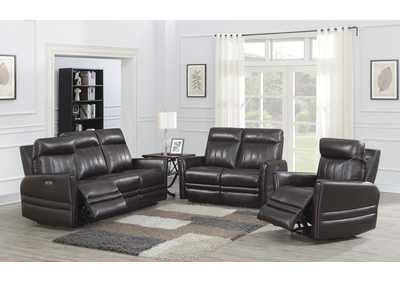 Image for Coachella Black Power-2 Recliner Sofa, Armchair & Loveseat