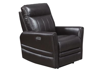 Image for Coachella Black Recliner Chair