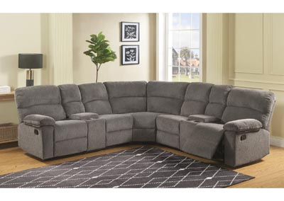 Image for Conan Graphite 3 Piece Sectional Sofa