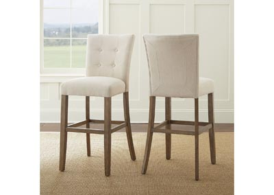 Image for Debby Beige Bar Chair [2/Ctn]