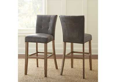 Image for Debby Grey Bar Chair [2/Ctn]