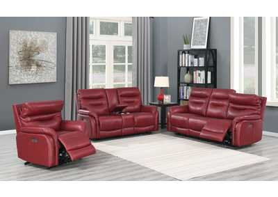 Image for Fortuna Wine Power-2 Recliner Sofa, Armchair & Loveseat