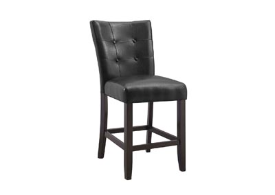Image for Francis Black PU Counter Dining Chair [2/Ctn]