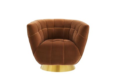 Image for Hanna Rust Swivel Chair