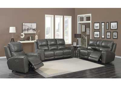 Image for Laurel Grey Power-2 Recliner Sofa, Armchair & Loveseat