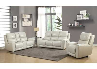 Image for Laurel Ivory Power-2 Recliner Sofa, Armchair & Loveseat