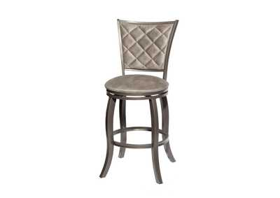 Image for Montello Grey Swivel Bar Stool [2/ctn]