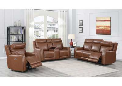 Image for Natalia Brown Power-2 Recliner Sofa, Armchair & Loveseat