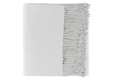 Image for Chantel Light Gray Throw