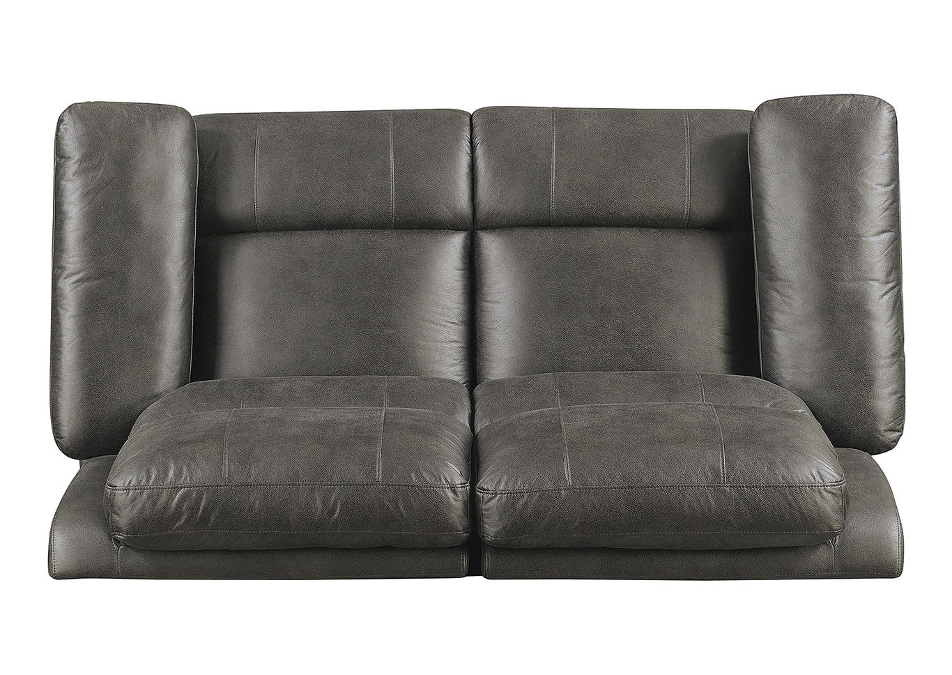 Julia Dark Gray Power Motion Loveseat,Taba Home Furnishings