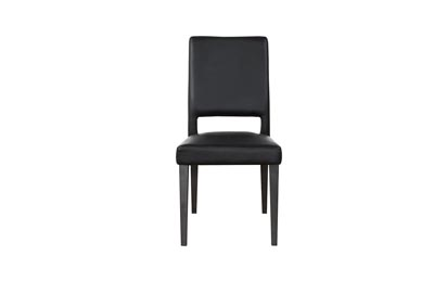 Image for Brass Black Set Of 2 Chairs (2/CN)