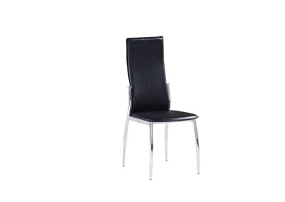 Image for Caldwell Black Set Of 4 Chairs (4/CN)