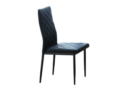 Image for Mika Black Set Of 6 Chairs (6/CN)
