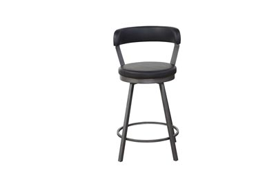 Image for Alexander Black Set Of 2 Pub Chairs (2/CN)