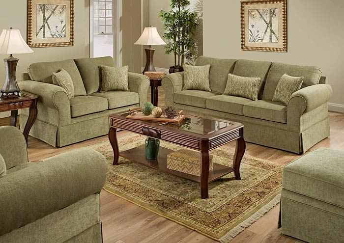 ARLINGTON MOSS / AMARI BALSAM SOFA,United Furniture