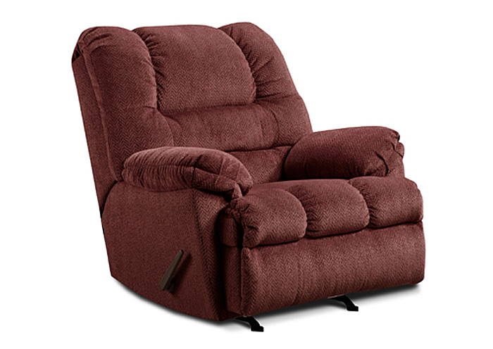 WINE POWER ROCKER RECLINER,United Furniture