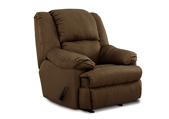 CHOCOLATE ROCKER RECLINER,United Furniture
