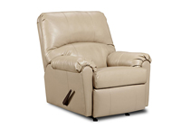 TAUPE ROCKER RECLINER