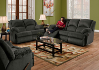 CHARCOAL DOUBLE MOTION SOFA