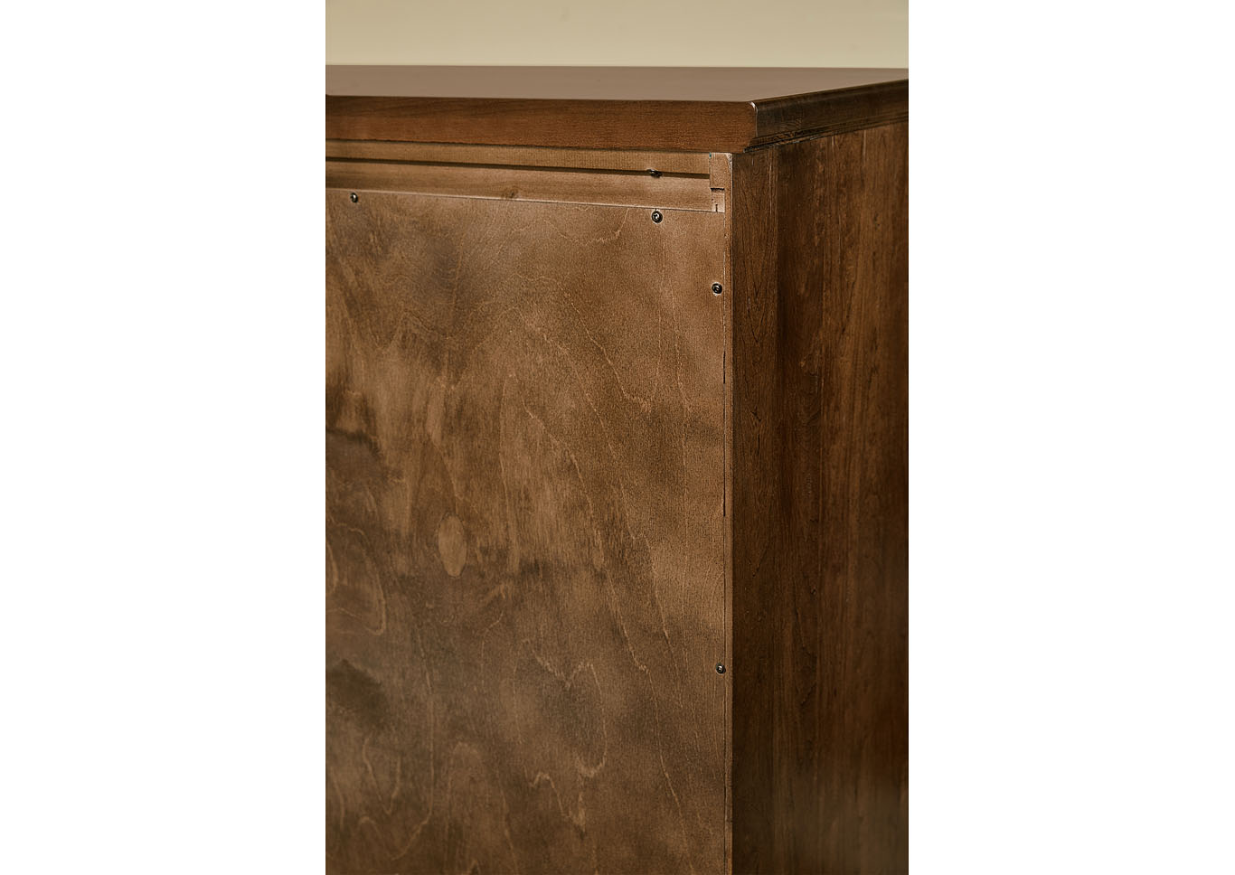 101 - Artisan Choices Rustic Cherry Loft Night Stand - 2 Drawer,Vaughan-Bassett