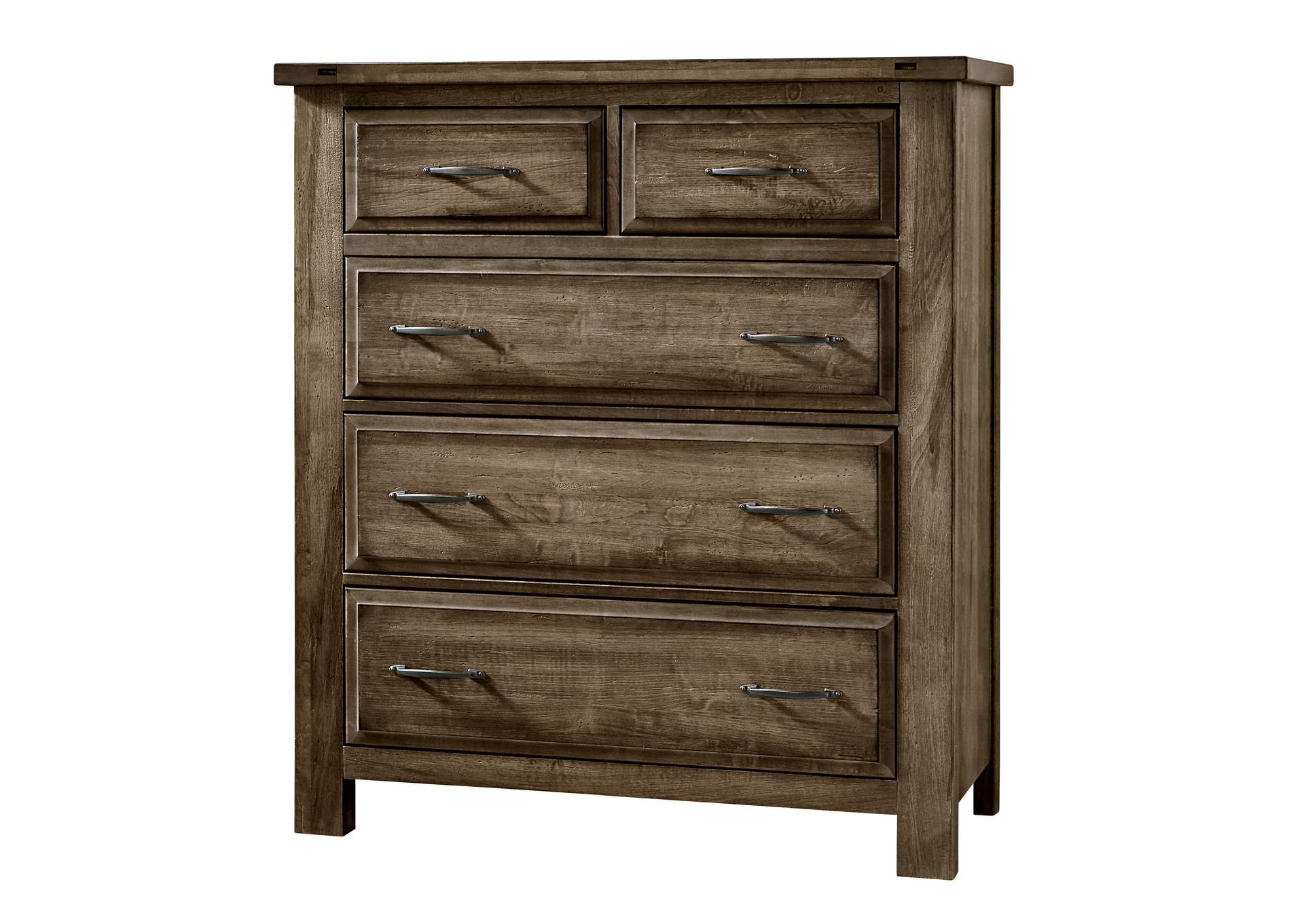 Maple Road Maple Syrup  Chest - 5 Drawer,Vaughan-Bassett