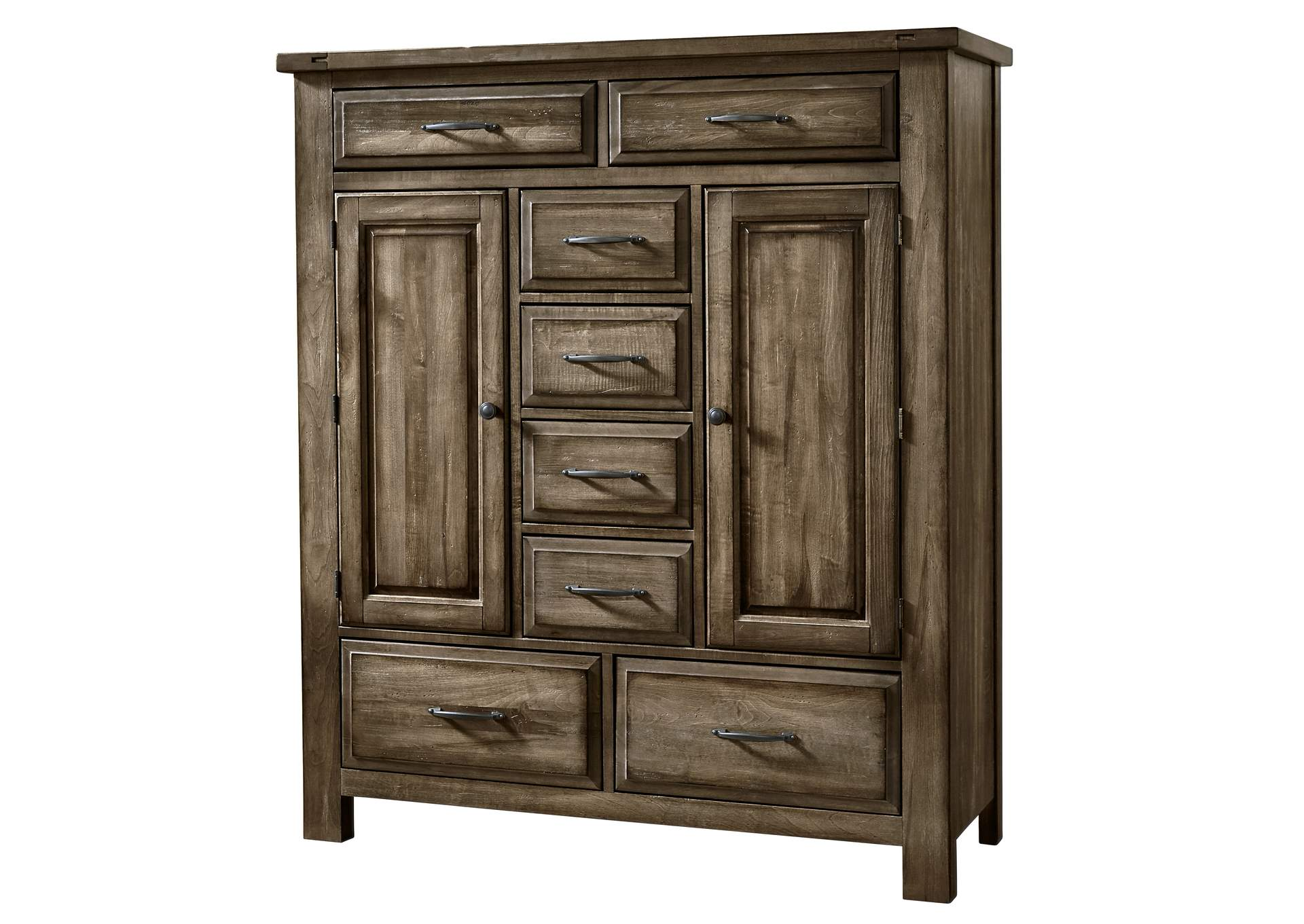 Maple Road Maple Syrup  Sweater Chest - 8 Drawer,Vaughan-Bassett