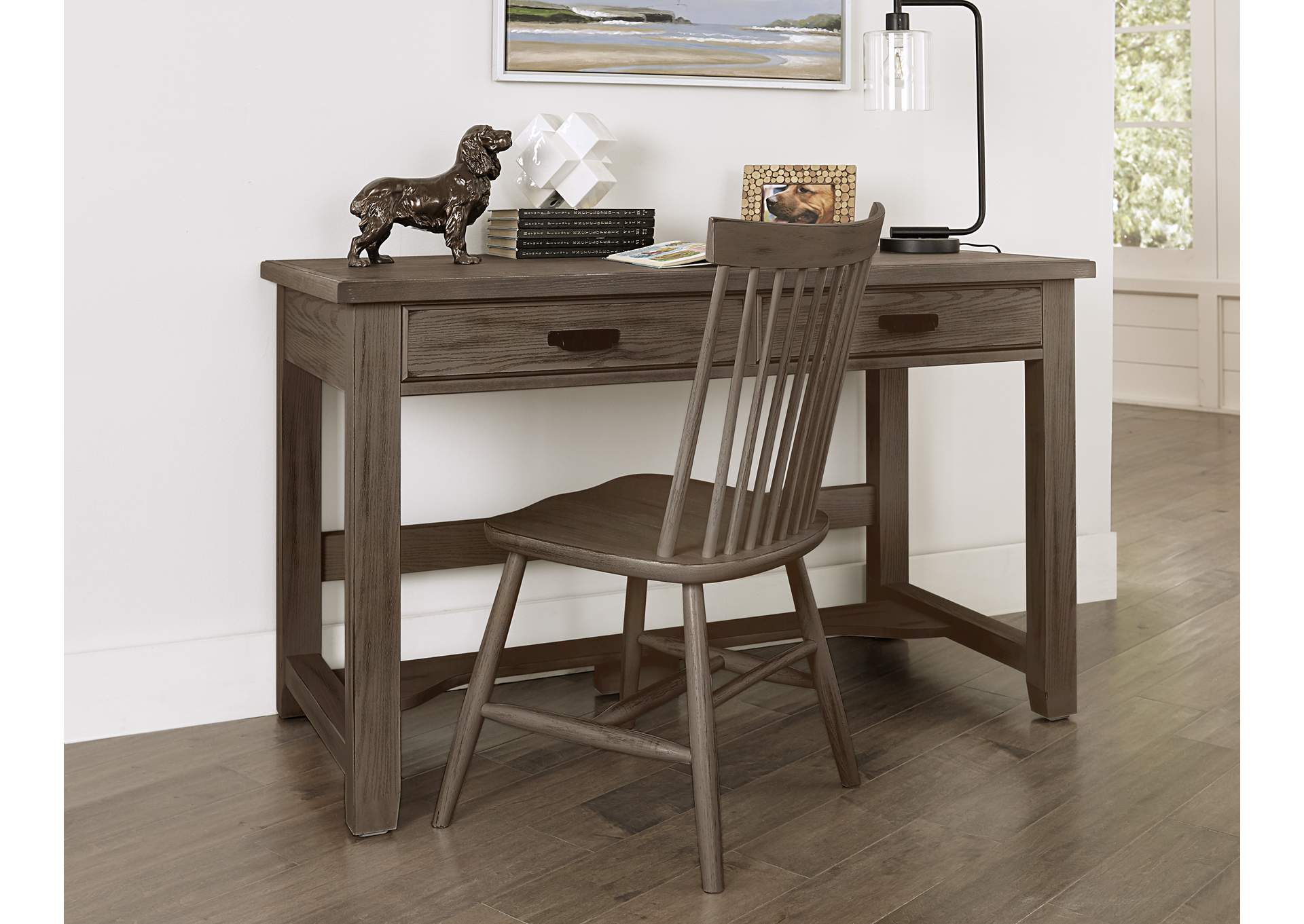 740 - Bungalow Folkstone Desk Chair,Vaughan-Bassett