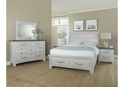 694 - Sawmill Alabaster Two Tone Dresser - 7 Drawer,Vaughan-Bassett