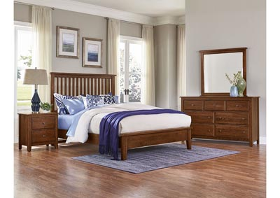 Image for Artisian Choices Slat Queen Bed