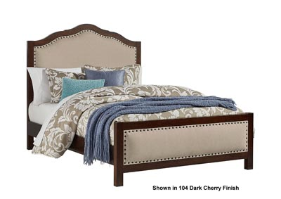 Image for Artisan Choices Napa Upholstery Queen Bed w/Upholistery Footboard