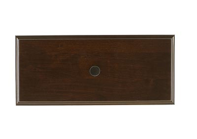 104 - Artisan Choices Dark Cherry Loft Triple Dresser - 7 Drawer,Vaughan-Bassett