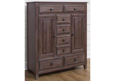 106 - Artisan Choices Dark Oak Loft Sweater Chest,Vaughan-Bassett