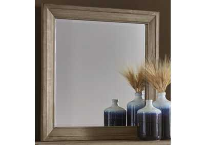 Maple Road Mondo Landscape Mirror,Vaughan-Bassett