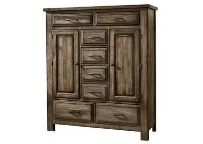117 - Maple Road Maple Syrup Sweater Chest - 8 Drawer,Vaughan-Bassett